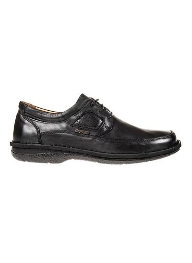 Dr.Flexer 816613  HakıkıDerıErkek Comfort Ayakkabı Sıyah Siyah